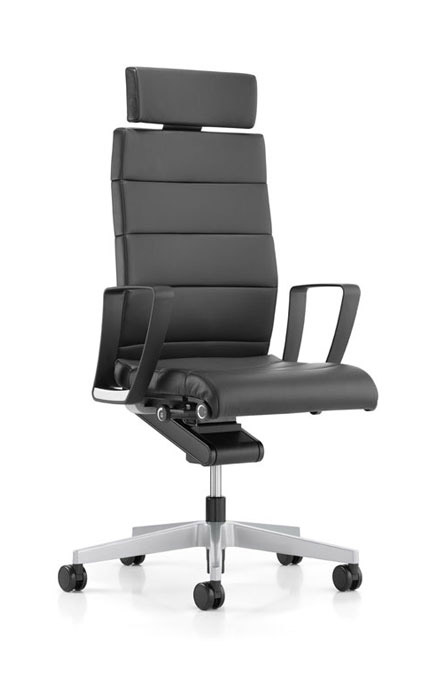 3C22 - Swivel armchair, high