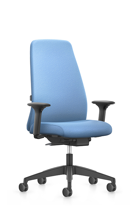 EV157 - Swivel armchair high,