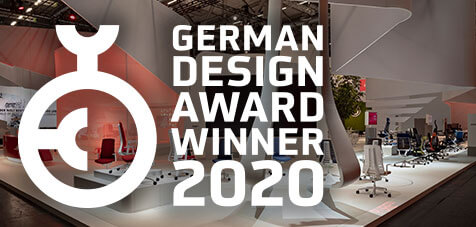 Interstuhl gewinnt German Design Award 2020
