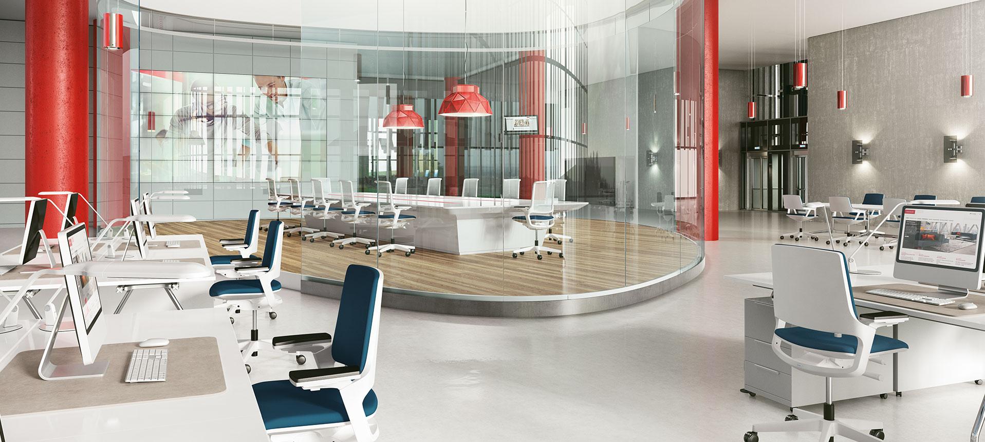 Moderne bürokonzepte  Das Großraumbüro neu gedacht